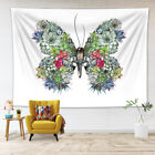 StoreInventorybutterfly succulent plant flowers tapestry wall hanging for living room dorm lb