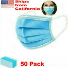 Face Mask Roof Mouth Mask Respirator 3-Layers In Stocks US 50/100/200/1000 pcs