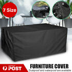New Waterproof Outdoor Furniture Cover Garden Patio Rain Snow Uv Table Protector