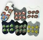 Super Mario No Show Socks 5-Pair