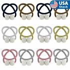 1-4x Curtain Tie Backs Magnetic Ball Buckle Holder Tieback Clips Home Window