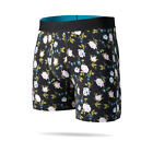 "Stance Underwear ""Ditzy Wholester"" Boxer Brief (Black) Men's Boxers Briefs"