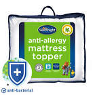 Silentnight Anti Allergy Anti Bacterial Mattress Topper Single Double King Super