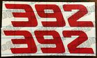 392, Daytona Style, decal, sticker, Dodge, Charger, Challenger, Jeep, MOPAR HEMI $12.0 USD on eBay