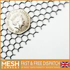 6mm Hexagonal (6mm Hole x 6.7mm Pitch x 1mm Thick) Mild Steel Perforated Mesh