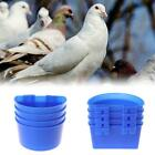 10 * Water Glass Hanging Cage Food Cups Pigeon Poultry Feeding Watering Supplies