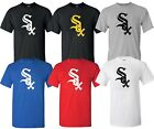 Chicago White Sox MLB LOGO Black UNISEX Multi Color T-Shirt - S-4XL on Ebay
