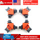 4X 90 Degree Right Angle Corner Clamp Woodworking Wood For Kreg Jigs Clamps Tool
