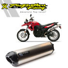 Two Brothers BS M-2 Titanium Slip-On Exhaust 2008-2012 BMW F650GS F800GS