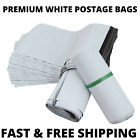 WHITE Premium Strong Quality Plastic Mailing Postage Bags Poly Post Mail Postage