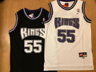 Jason Williams #55 Sacramento Kings Men's Stitched Throwback Black/White Jersey on eBay