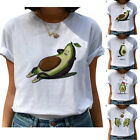 Avocado Summer Cotton T-shirt Women Summer Hoilday Tees Tops Fashion Clothes New