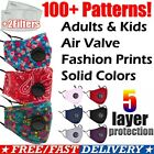 Kyпить Reusable Washable Cloth Face Mask w/ Air Port + 2 PM2.5 Carbon Filters на еВаy.соm