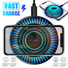 Qi 10W Wireless Fast Charger Charging Stand Pad Mat Dock For iPhone/Samsung/LG