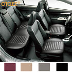 Universal Leather Car Seat Cover Full Surround Front Rear Back Cushion Protector $48.95 USD on eBay