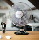 Electric Quiet Oscillating Multi Speed Cooling Desk Fan Refurbished