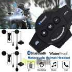 Rechargeable Motorcycle Wireless Bluetooth Helmet Headset Headphone with Mic