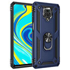 For Xiaomi Redmi Note 9S 9 Pro Max Heavy Duty Shockproof Ring Holder Case Cover