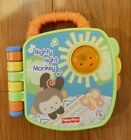 Fisher-Price Electronic Talking Storybook Toy 6-36 Mo. Animals, Colors, Monkey