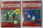 NEW Creations by Caron Rug Hook Kits, 18