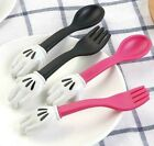 Toddlers Kids baby spoon fork set