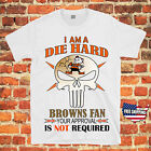 Cleveland Browns FOOTBALL PUNISHER SKULL NFL Jersey Tee T Shirt Free Shipping $16.99 USD on eBay