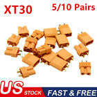 10/20Pcs XT30 Power Connector Plug Socket For RC Battery Quadcopter Helicopter