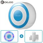 Digoo Wireless Home Security Alarm Standalone Siren Host PIR Detector