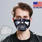 Darth Vader - Star Wars Face Mask Adult Washable Fabric Mask Reusable USA Made $17.99 USD on eBay