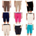 St. John's Bay Women's Shorts Petite Bermuda 8P 10P 12P or 16P, New