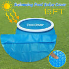 475X475CM Large Size Round Pool Cover Protector 15ft Foot Above Ground Blue