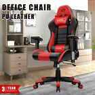 Adjustable Ergonomic Racing Gaming Chair Office Computer Chair Faux Leather Usa