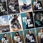 JAMES BOND: NO TIME TO DIE Movie PHOTO Print POSTER 007 Cast Art Character Film $26.88 CAD on eBay