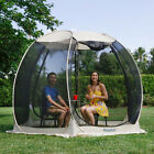 Pop Up Screen House Room Outdoor Camping Tent Canopy Gazebo 4-6 Person for Patio