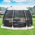 Pop Up Screen House Room Outdoor Camping Tent Canopy Gazebo 4-6 Person for Patio image