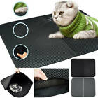 Foldable Double-Layer Cat Litter Box Mat Waterproof Pad Pet Rug EVA Foam Rubber