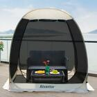 Pop Up Screen House Room Outdoor Camping Tent Canopy Gazebo 6-8 Person for Patio