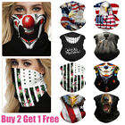 Kyпить Washable Face Shield Tube Mask Scarf Bandana Mouth Cover Men Women Neck Gaiter на еВаy.соm