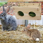 Hanging Food Wooden Container Fixed Home Pet Grass Feeder Rabbit Vertical Type