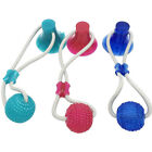 Suction Cup Chew Bite Playing Lightweight Cat Funny Dog Toy Pet Portable Ball