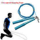 Accessories Body Building Cable Steel Jump Ropes Skip Rope Aluminum Handle image