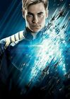 248350 Star Trek Chris Pine Capt James T KIRK Art WALL PRINT POSTER AU on eBay
