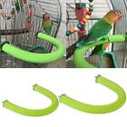 New Parrot Perch Wooden Bird Stand U Shape Nail Perches Claw Grinding Cage Toys