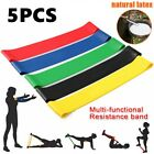 5pcs Resistance Loop Bands Strength fitness Gym exercise Yoga Workout Pull Up US image