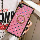 Heart ring Leather Square Trunk Case Cover For iPhone11 Pro Max XR SE 2020 11