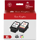 PG-245XL CL-246XL Ink Cartridge for Canon PIXMA iP2820 MG2420 MG2520 Printer Lot