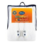 Silentnight Multi Zone Heated Warm Quilted Mattress Bed Topper Double King Super