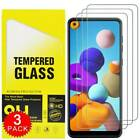 3-Pack For Samsung Galaxy A21S A11 A21 Premium Tempered Glass Screen Protector