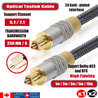Toslink Optical Fiber Audio Cable Digital Optic SPDIF Wire Surround Sound Cord