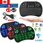 3 Colors Backlit i8 Mini Wireless Keyboard 2.4ghz Mouse Touchpad Remote Control